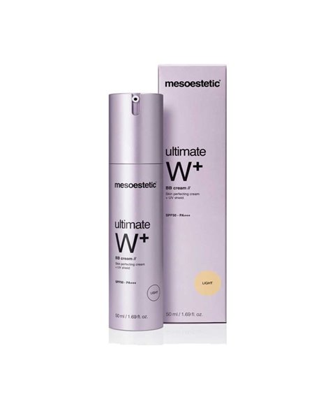 Mesoestetic - ultimate W+ BB cream light