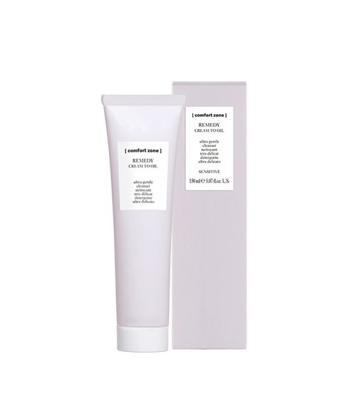 Comfort Zone - Remedy Cream to oil cleanser